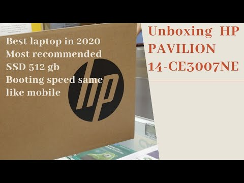 Unboxing Hp Pavilion 14 Ce3007ne I5 8gb Ram 512 Gb Ssd 14 Fhd Antiglare Display Most Recommended Lap Youtube