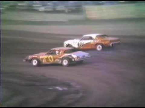 Wilmot Speedway 8 31 1986 National Anthem & Spectator Stock Heat
