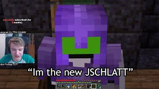 dream BECOMES JSCHLATT on dream smp *VERY SCARY*