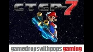 Lets Play Mario Kart 7 CTGP Citra Canary #1205 Red Yoshi Nintendo 3DS Emulator Fun Run 50CC Cleared