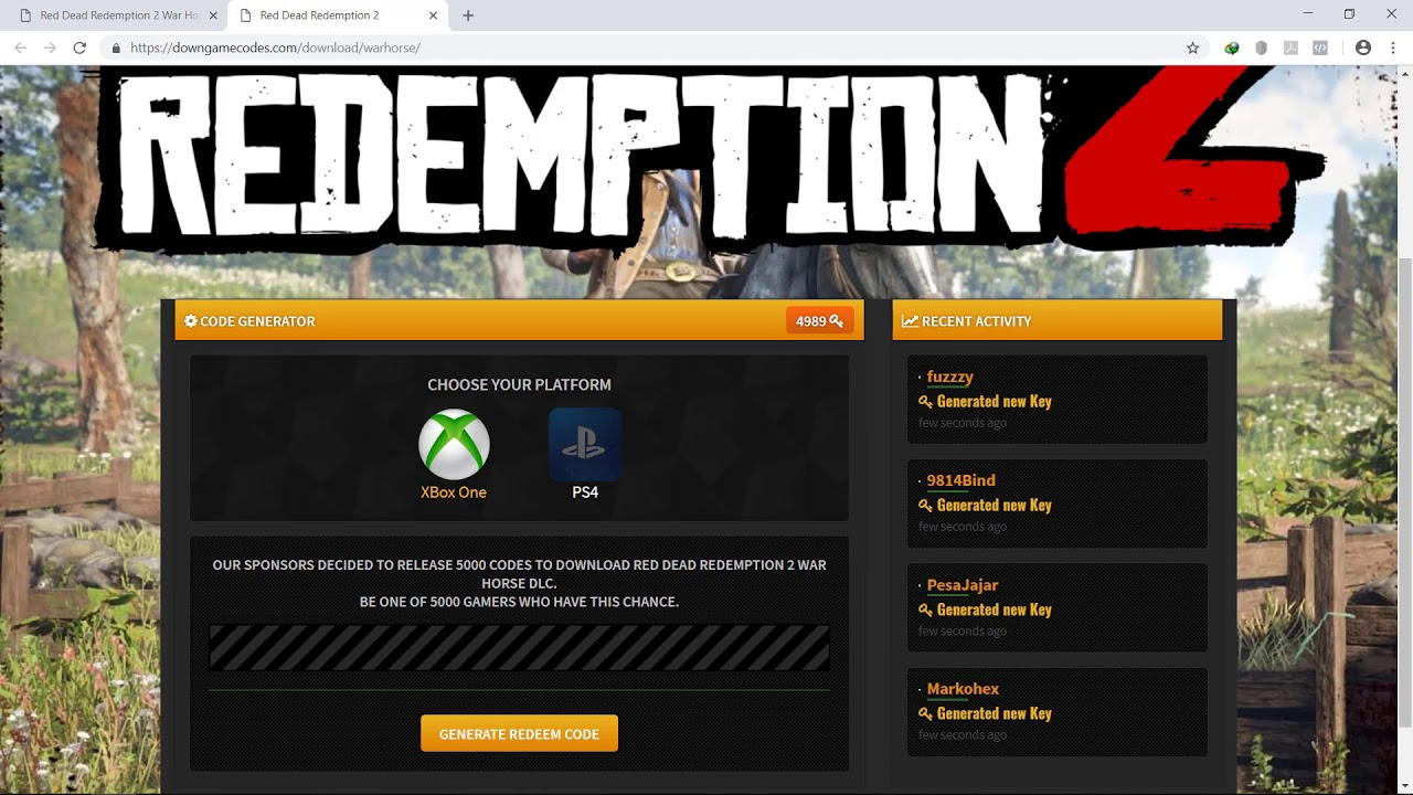 red dead redemption 2 dlc code not working