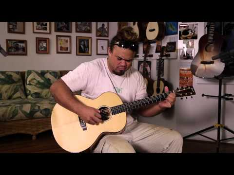 Noah Campbell - Slack Key Acoustic on Pono Guitar