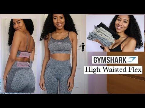 556c81e5405ef Brutally Honest Gymshark High Waisted Flex Leggings Review - Try on ...