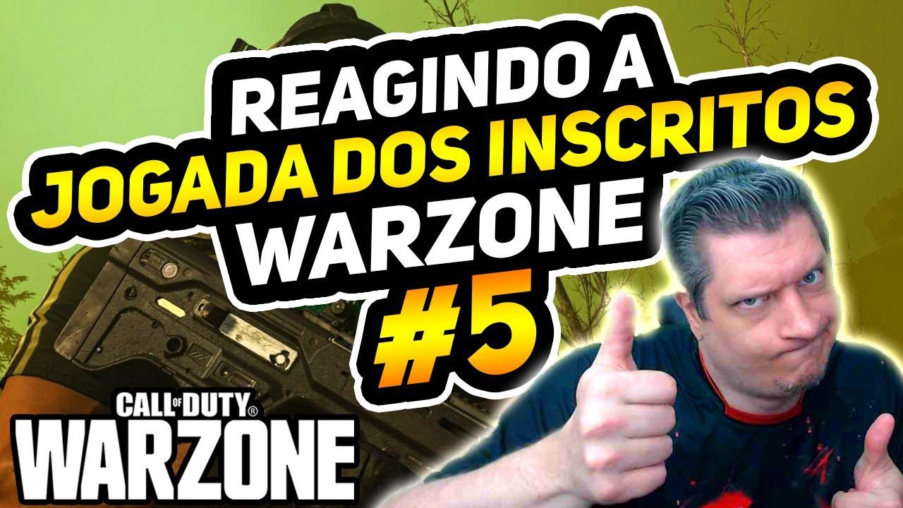 REAGINDO A JOGADAS DOS INSCRITOS #05 | COD WARZONE