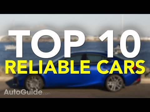 Top 10 Most Reliable Cars: 2017
