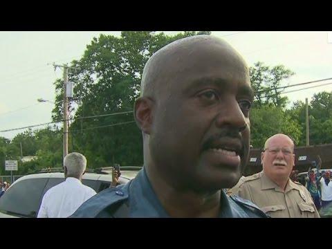 Capt. Johnson: Ferguson is 'my community'