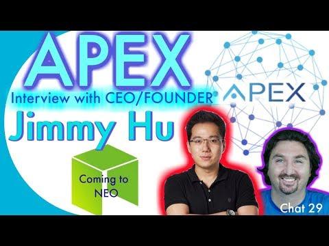 Crypto Neo News - Crypto Interview with APEX CEO JIMMY HU - By BlockchainBrad - NEO