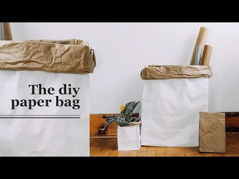 DIY GIANT PAPER BAG | THE SORRY GIRLS