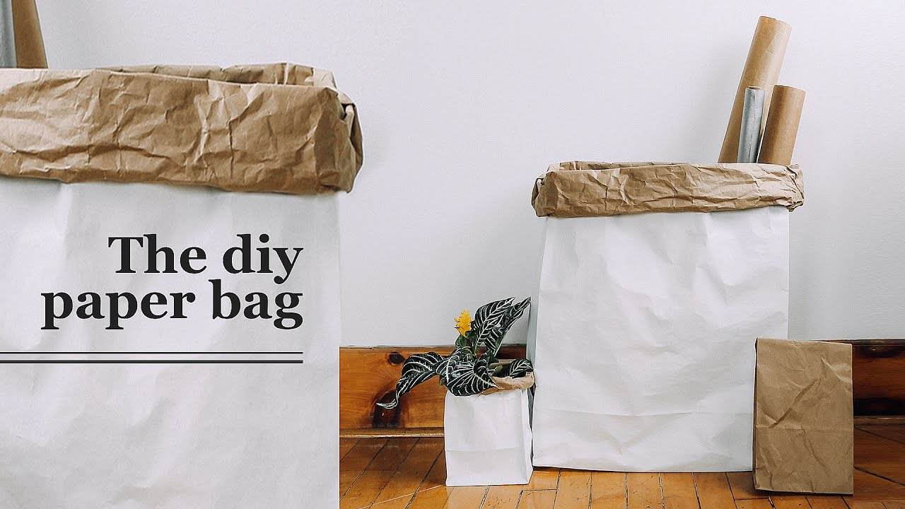 Diy Giant Paper Bag The Sorry S