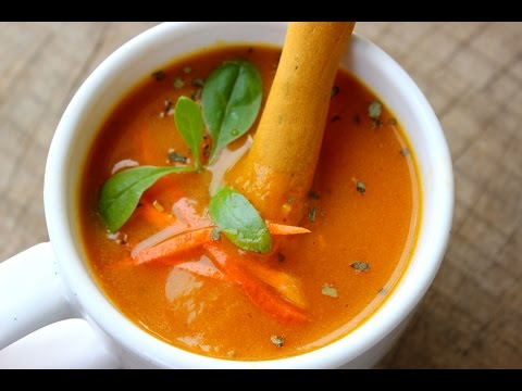 Carrot Soup- How To Prepare Quick And Easy Carrot Soup - Foodvedam