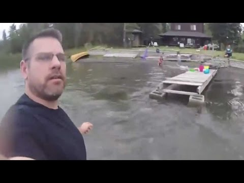 Amazing Catch After Drone Loses Power | TODAY