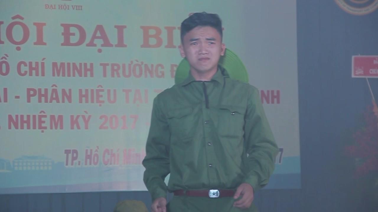 Sân khấu hóa Ngã ba Đồng Lộc | Tổ khúc Mùa xuân Tuổi trẻ mừng ĐH Đoàn trường | 2017.05.14.(3)