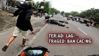 Download Sama2 Ngotot, Senggolan Motor vs Truck - Crash Bikin Ngilu - Ban Selip Sampe Masuk Kolong Mobil #109