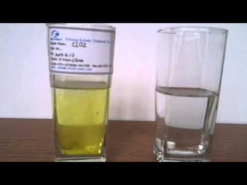 Chlorine Dioxide CLO2 Contrast Test KOLANKY
