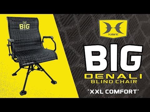 THE MOST COMFORTABLE HUNTING BLIND CHAIR - BIG DENALI By HAWK