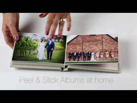 How To Make Peel & Stick Photo Albums