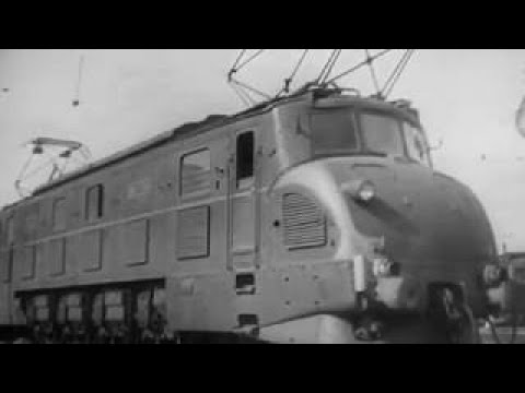 SNCF 2D2 Electric Locomotives 1946 French Train Educational Documentary WDTVLIVE42 - The Best Docume