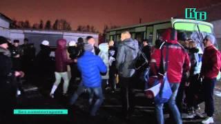 Торжественные проводы в армию г. Ковров зима 2014