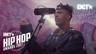 vuclip XXXTentacion Instabooth Freestyle | BET Hip Hop Awards 2017