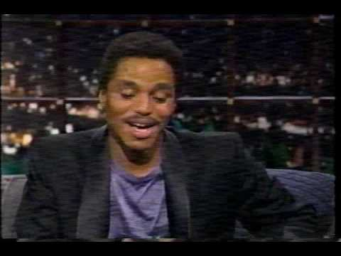 Marlon Jackson interview (1of 2) Late Show 1987