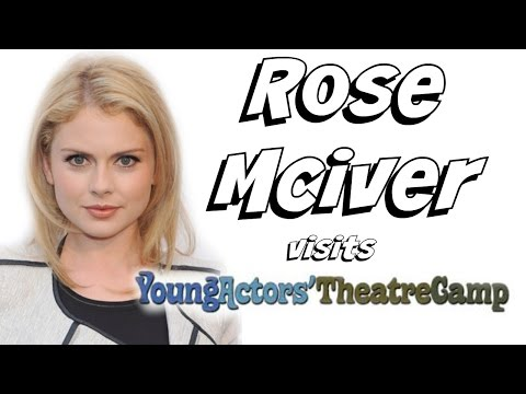 Rose McIver Comes To Camp!
