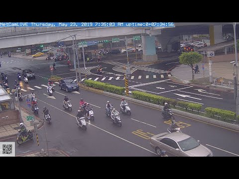 NetCamLIVE2 即時影像YT直播相機 (展示 LIVE DEMO)@Taiwan New Taipei City 720p 台灣 新北市新莊區中正路/思源路 大漢橋下 捷運頭前庄站