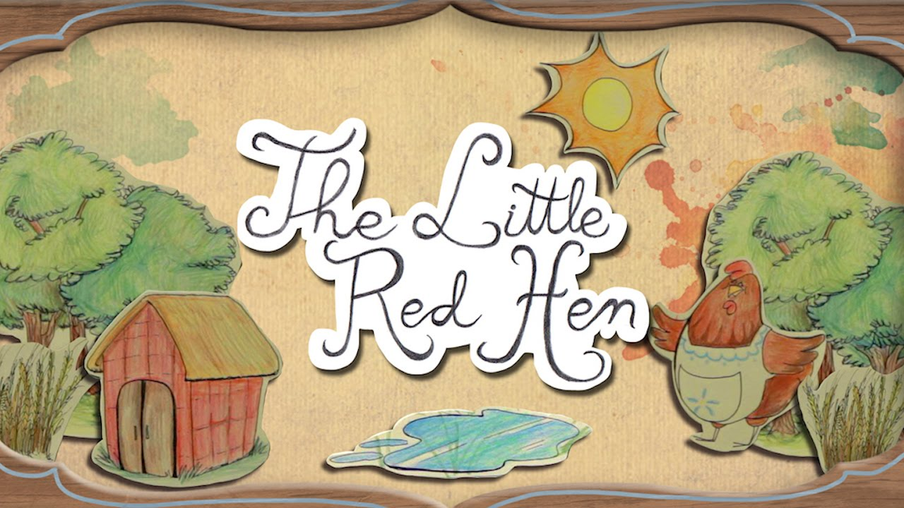 Little Red Hen | Fairy Tales - By Sosô Uribe