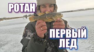 Рыбалка ПЕРВЫЙ ЛЁД 2020 2021 Подводное видео Озеро Моховое