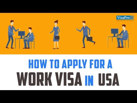 How Do I Get a US Work Visa?