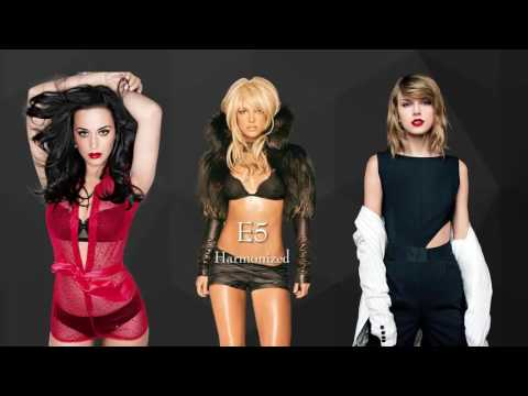 Katy Perry VS Britney Spears VS Taylor Swift : Vocal Battle (C3 - G5 - A5)