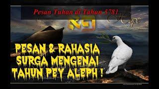 MEMASUKI TAHUN 5781   Pesan & Rahasia tahun Pey Aleph   Rara Siahaan
