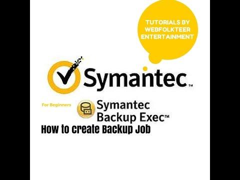 How To Create Backup Job | Backup Exec | Beginner Tutorial