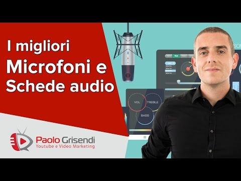 I Migliori Microfoni e Schede Audio e Come Impostarli