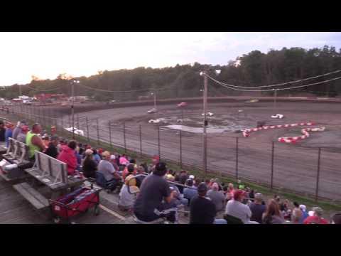 Hilltop Speedway SS Heat Race 6-24-17