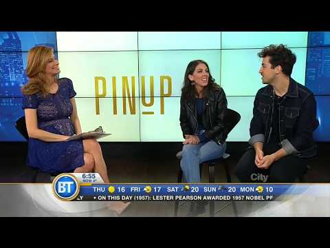 Pin Up Live on Breakfast Television Montreal (12/10/2017)