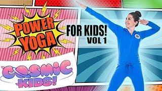 Power Yoga for Kids! 👊👊👊 Volume 1!