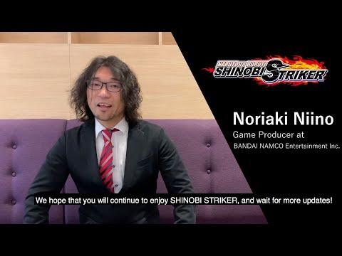 NARUTO TO BORUTO: SHINOBI STRIKER - Producer's Message | PS4, X1, PC