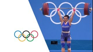Svetlana Podobedova (KAZ) Wins 75kg Weightlifting Gold - London 2012 Olympics