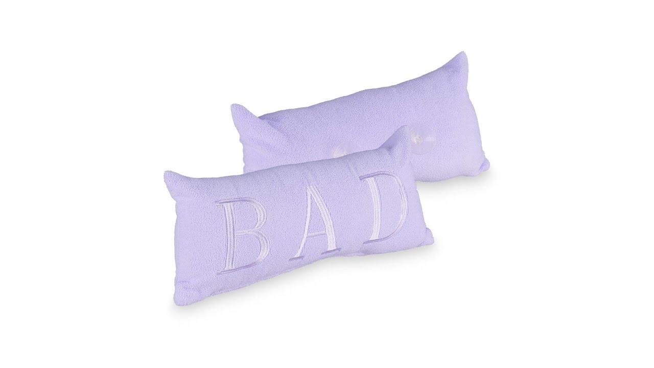Lilac bath Pillow BUY ONLINE HERE