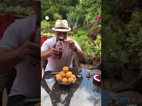 армян показывает как правильно надо пить армянский коньяк