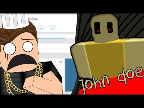THE FIRST ROBLOX ACCOUNT EVER (John Doe)