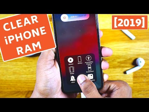 How to Clear iPhone RAM Memory! [2019]