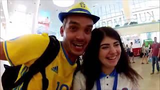 Fotbolls-VM, Sverige-England i Ryssland-Samara 2018