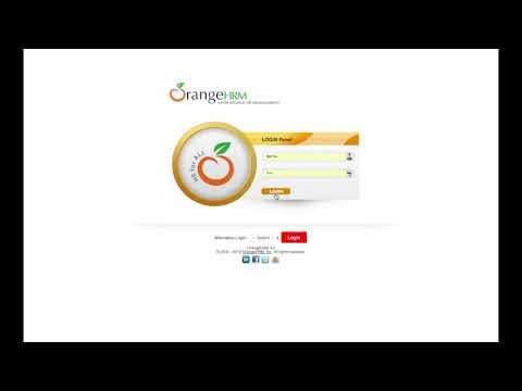 OrangeHrm Timesheet Workflow