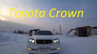 Тест Драйв.  Обзор Toyota Crown s171 1JZ-GE Японский Мерседес