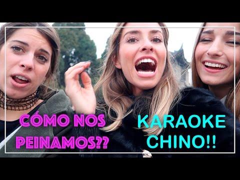 Cómo nos peinamos cada uno?? Nos vamos de karaoke en China!! - Marta Carriedo Travels