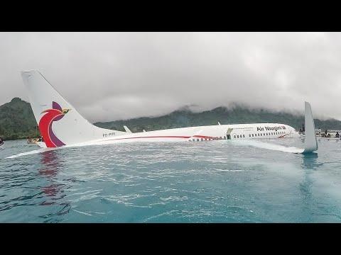 Air Niugini Flight 73 - Crash Animation