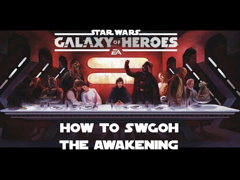 Star Wars Galaxy Of Heroes How to SWGOH Episode 1 Beginners Guide