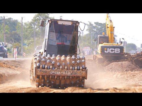 รถก่อสร้างถนน ทีมเวิร์ค Construction