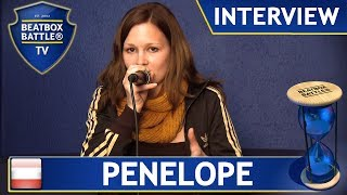 Penelope from Austria - Beatbox Battle TV - Interview